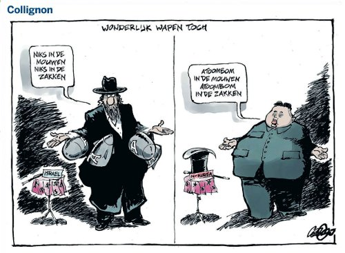 politieke leider cartoon