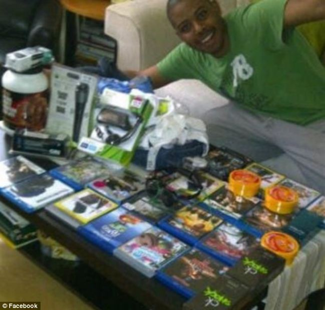Don show your Facebookbrazen Londoner posted picture himself with items still their packaging  Police say such postings encouraged other people join the looting